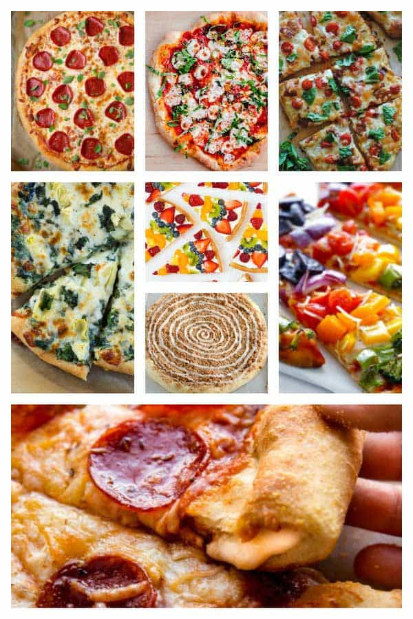 Make the most of your pizza night with this feast of recipes that the family will love. Including some pizzas with a difference and dessert.