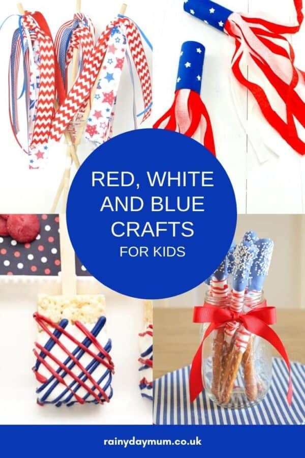 collage of 4th july crafts for kids