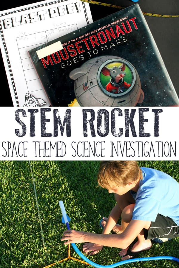 STEM Stomp Rocket Experiment for Kids