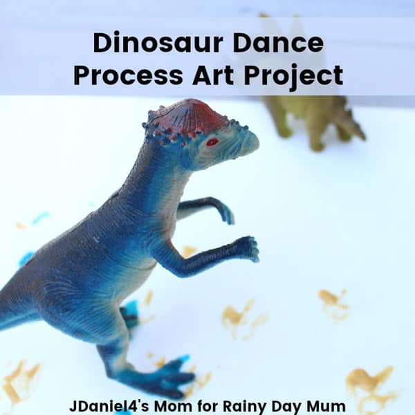 simple art with dinosaurs