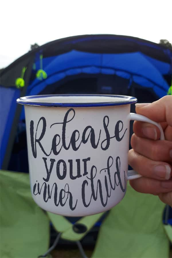 Release your inner child and head off camping in the forest