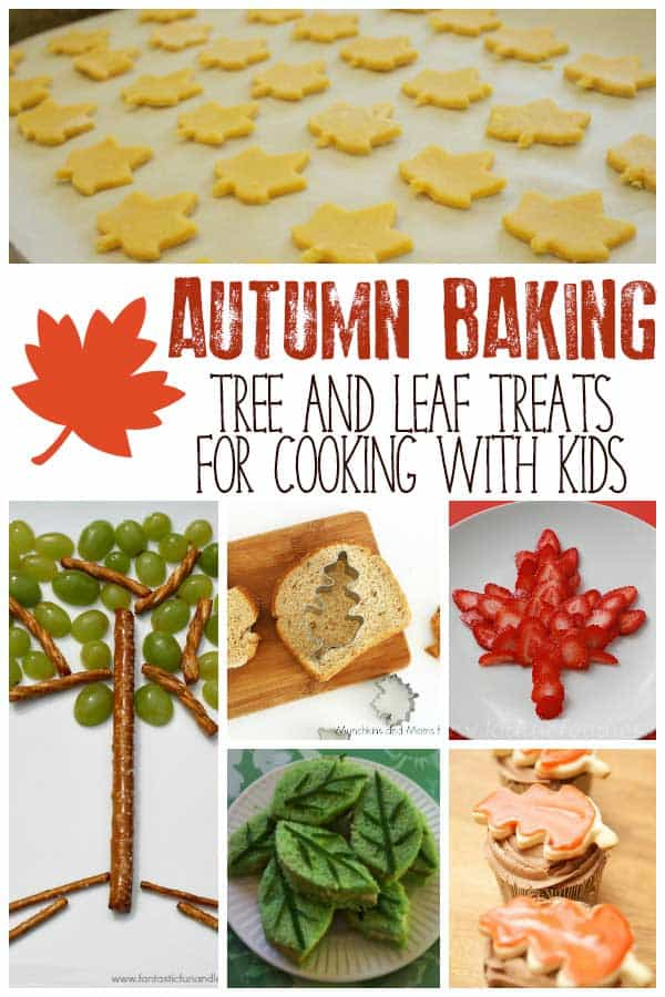 Recipes for Fall – Leaf and Tree Treat Ideas