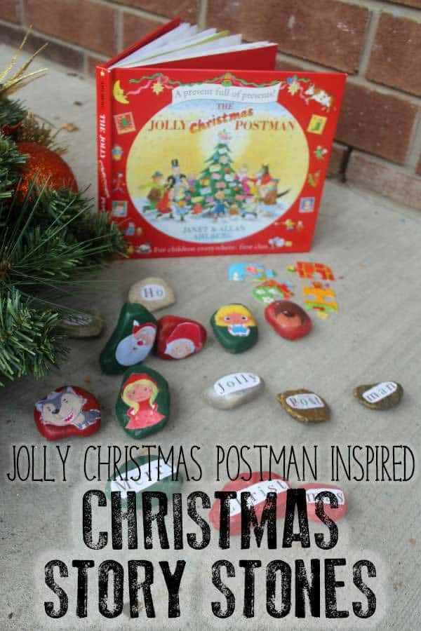 Jolly Christmas Postman Story Stones for Preschoolers
