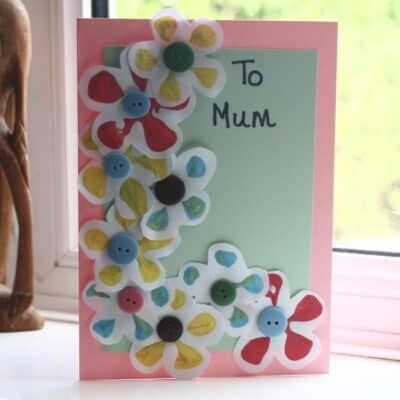 Easy Mother's Day Card for Toddlers to Make