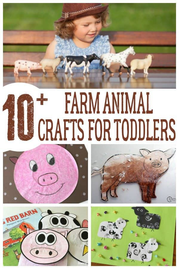 10 simple farm animal crafts ideal for spring to do with toddlers and preschoolers. These fun crafts are easy to do and set up and come with step-by-step instructions on getting creative with the little ones. Ideal for making at home or in your classroom.