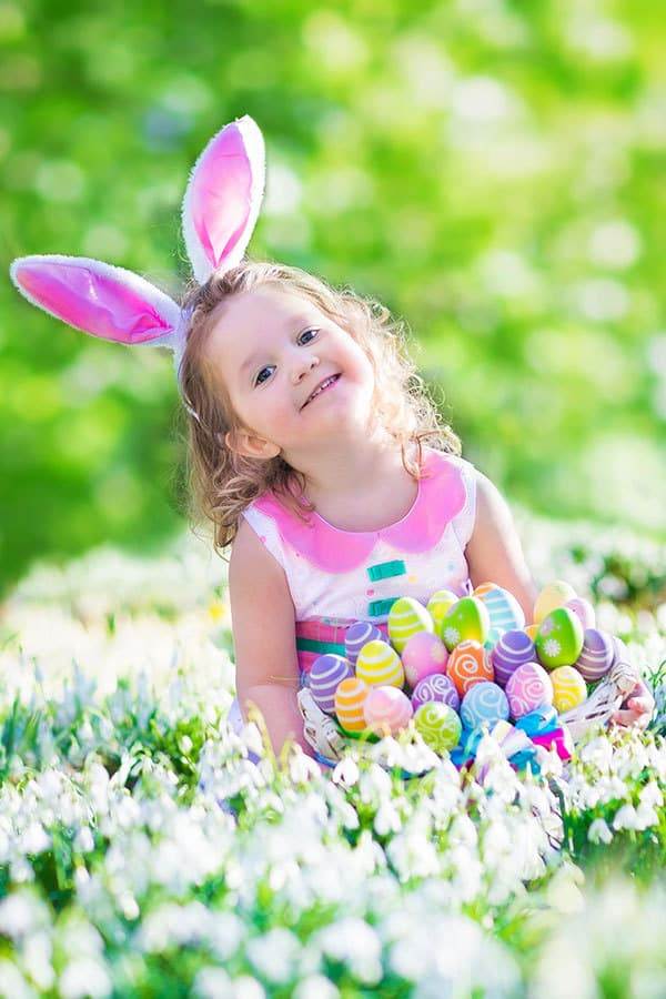 Spending quality family time together this Easter with a whole family Easter Egg Hunt Game.