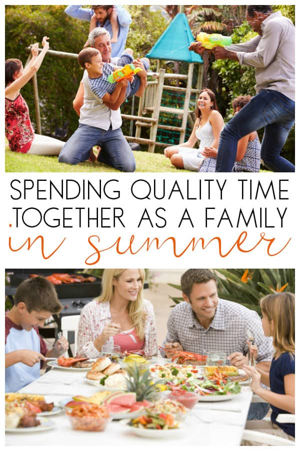 Ideas for spending time together as a family in the summer