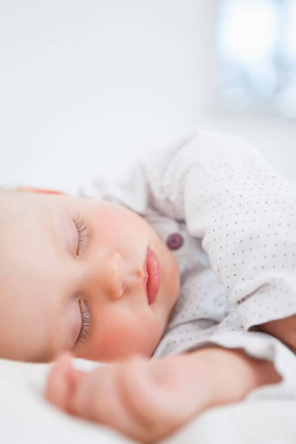 sleeping baby picture