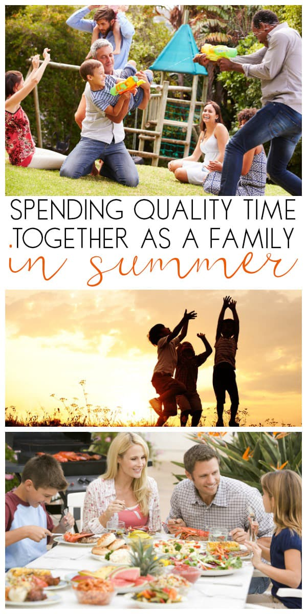Make spending time together as a family this summer a goal and try some of these simple low-cost ways that you can make the time you have available count and the memories made ones that your children will remember with smiles on their faces.