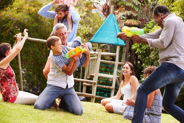 HAVE FUN as a family and make spending the time you have available quality time together
