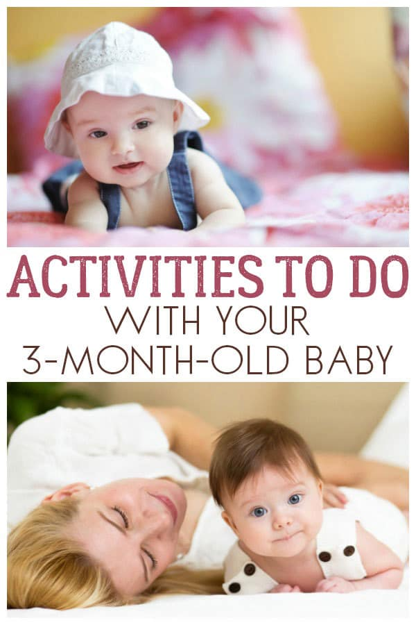 Support your babies development and engage with them as they grow with these simple activities and things to do with your 3-month-old