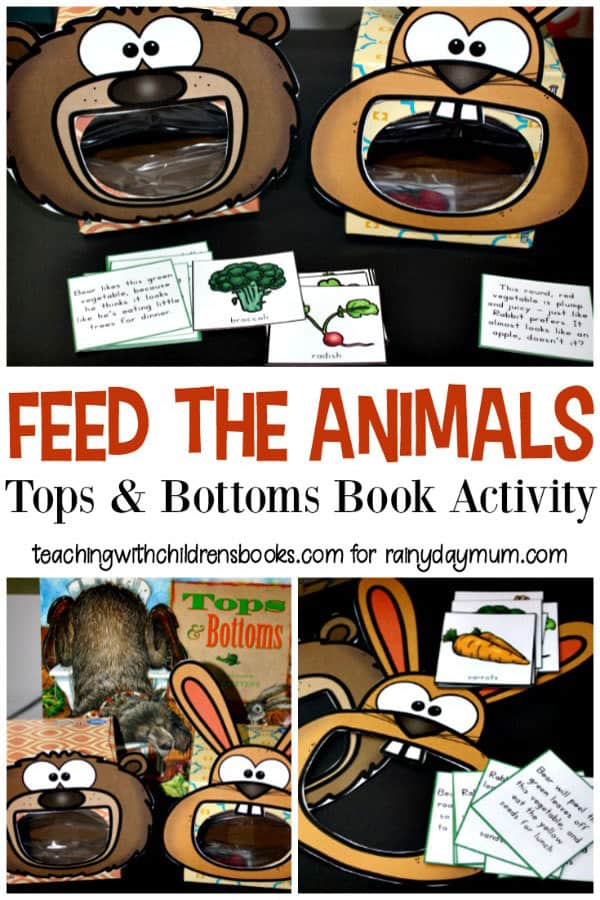 Feed the Animals Vegetable Sorting Game