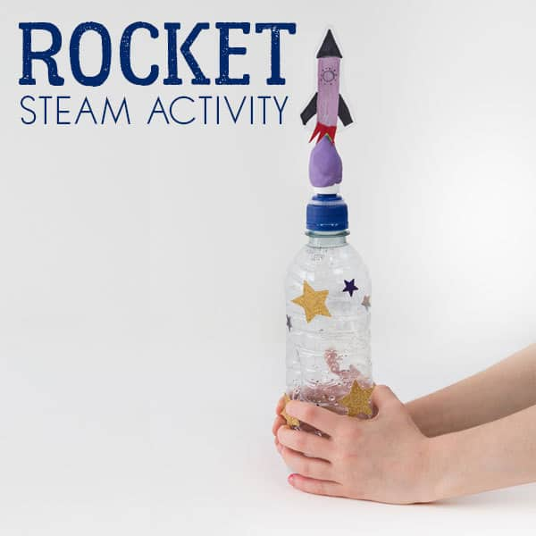 Simple and Easy Rocket Craft and Experiment