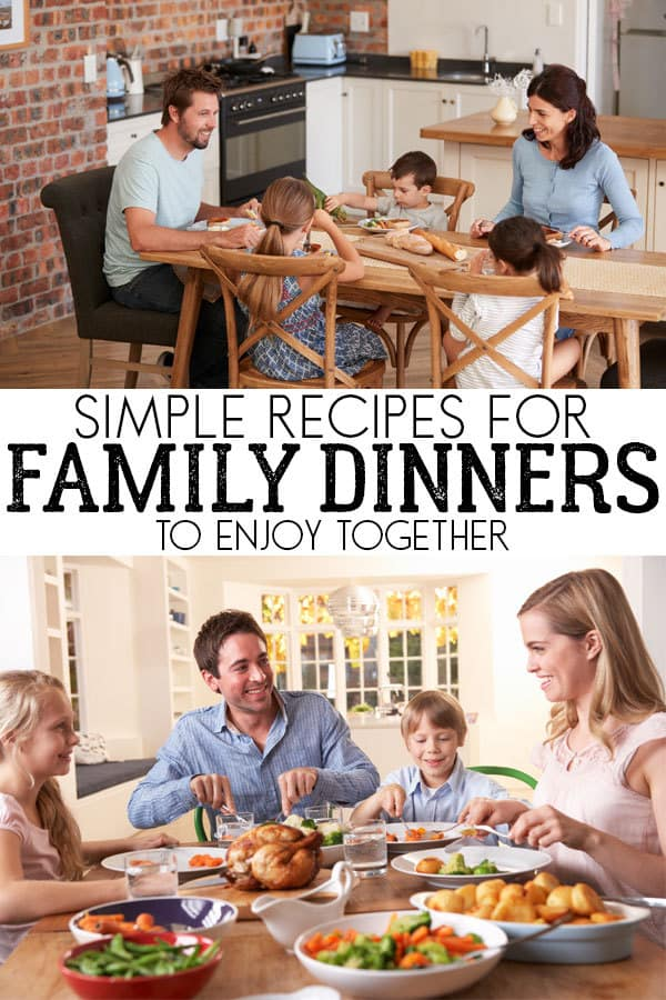 Family Meal Ideas