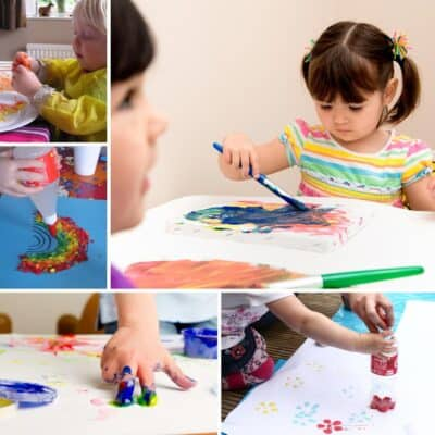 Simple and Easy Toddler Crafts