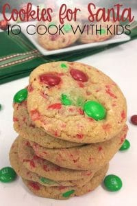 Delicious Cookies to make for Father Christmas on Christmas Eve with the Kids