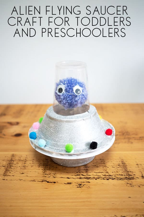 Alien Flying Saucer Craft for Kids