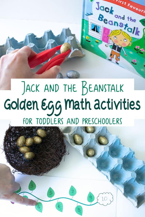 Jack and the Beanstalk Golden Egg Counting and Number Games