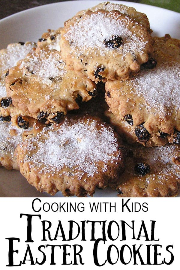 Delicious and easy recipe for traditional Easter Cookies a simple recipe that you can cook with kids.