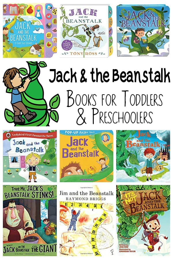 Jack and the Beanstalk Books for Toddlers and Preschoolers