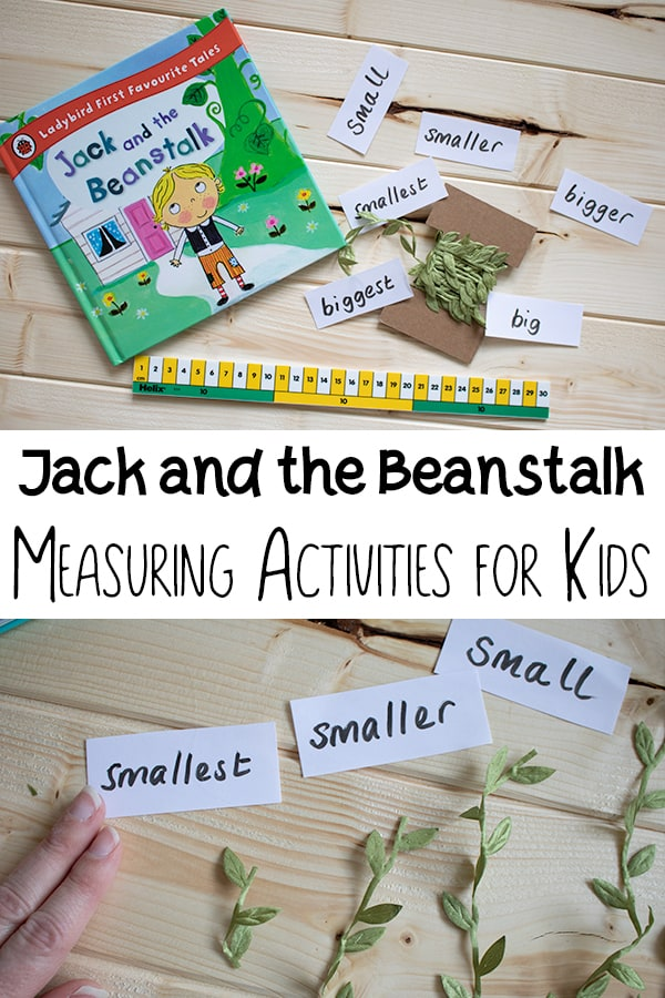 Jack and the Beanstalk Measurement Activity for Kids