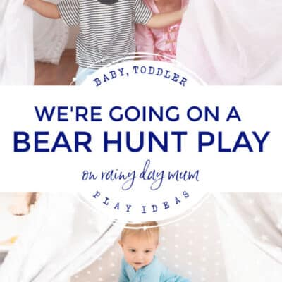 We're Going on a Bear Hunt Activity for Older Babies, Toddlers and Preschoolers