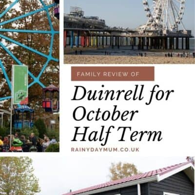 Duinrell October Half Term Break in The Netherlands Family Review