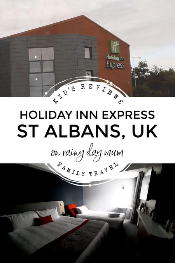 kids review of the holiday inn express at st albans a hotel near Harry Potter Studio Tour Ideal for Families
