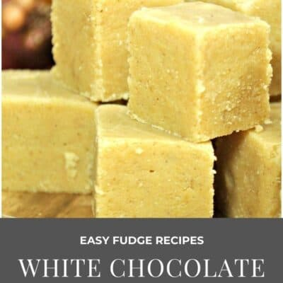 Delicious White Chocolate and Pumpkin Spice Fudge Recipe