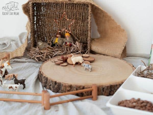 nativity set for Toddlers and Preschoolers to play with
