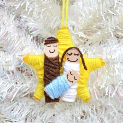 Nativity Ornament Craft for Kids