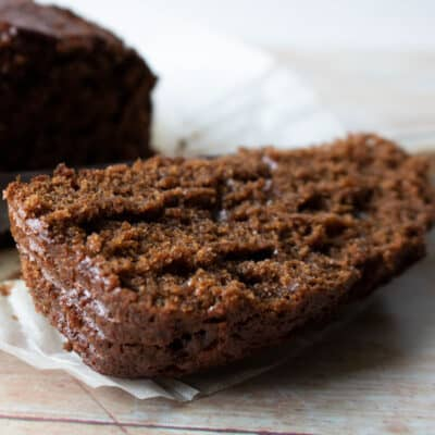 Sticky Gingerbread Loaf Cake Recipe