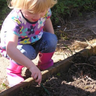Top Tips for Gardening with Toddlers