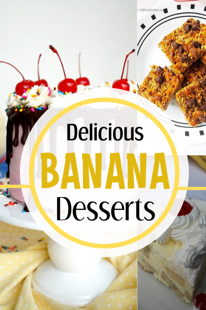delicious banana desserts that the whole family will love