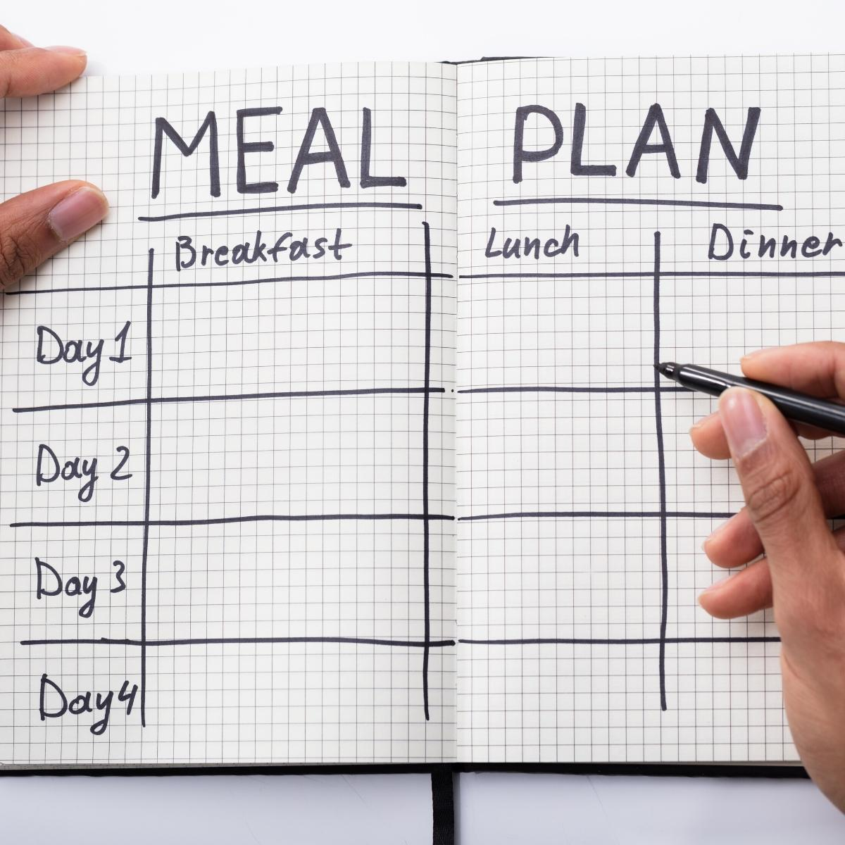 how to create a family meal plan when you are busy doing everything