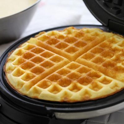 Delicious and Easy Weekend Breakfast Waffles
