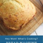 bread machine garlic and cheese bread recipe