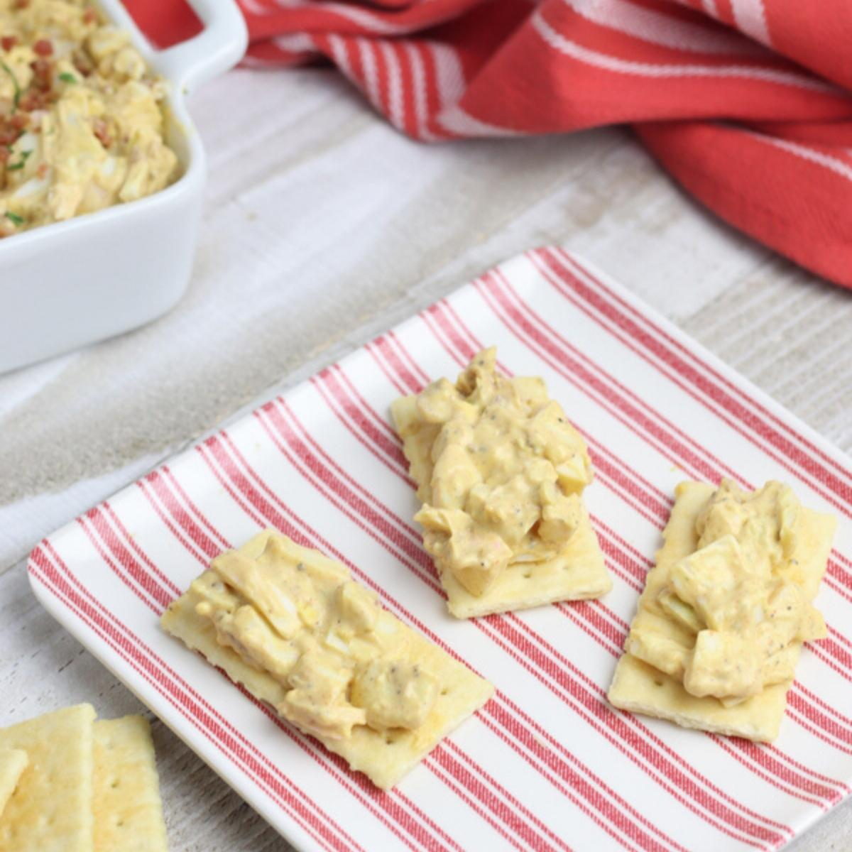 egg salad recipe for Easter appetizers and brunch
