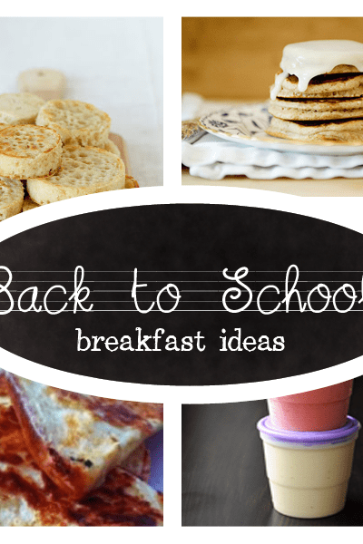 delicious and easy breakfast recipes for back to school mornings