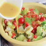 Delicious and Easy Ears of Corn Summer Salad with a Honey Mustard Dressing