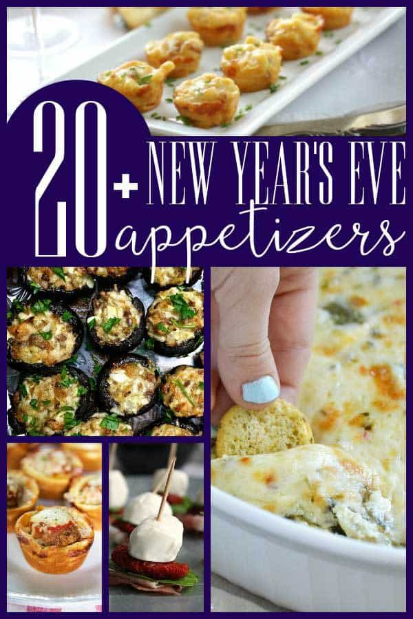 pinterest image originally on rainy day mum for 20+ delicious new years eve appetizers