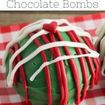 Pinterest Image for Christmas Fun Food Grinch Hot Chocolate Bombs