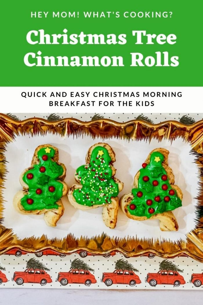 Christmas Tree Cinnamon Roll Pinterest Image