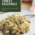 leftover turkey and stuffing casserole