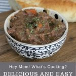 hey mom whats cooking delicious and easy slow cooker beef stew pinterest image