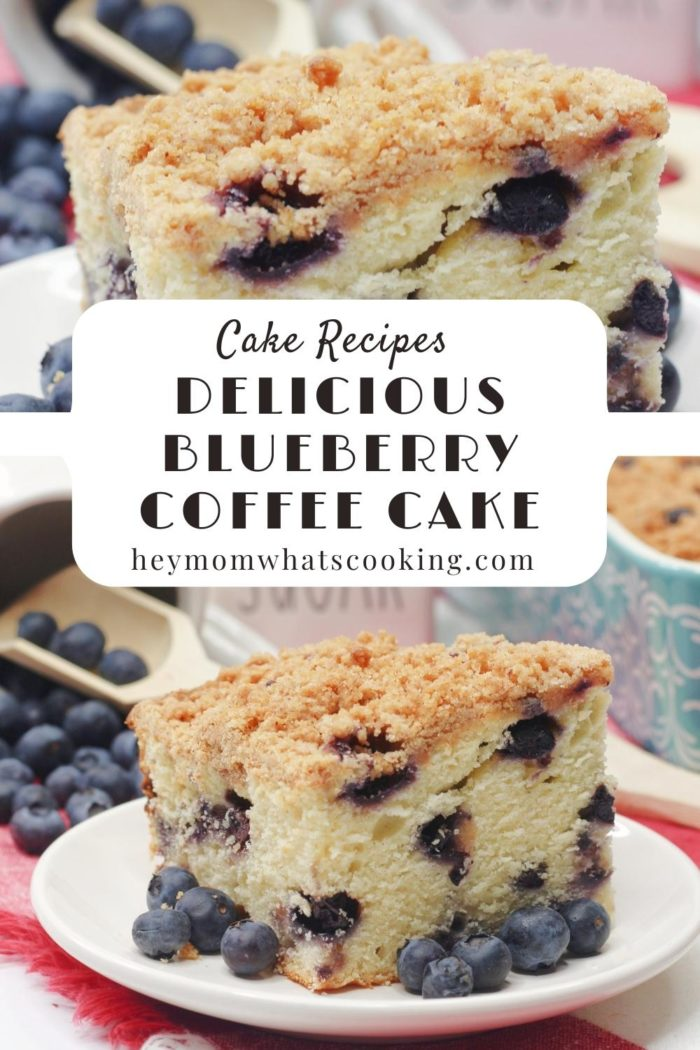 Delicious Blueberry Coffee Cake Pinterest Image from Hey mom Whats cooking