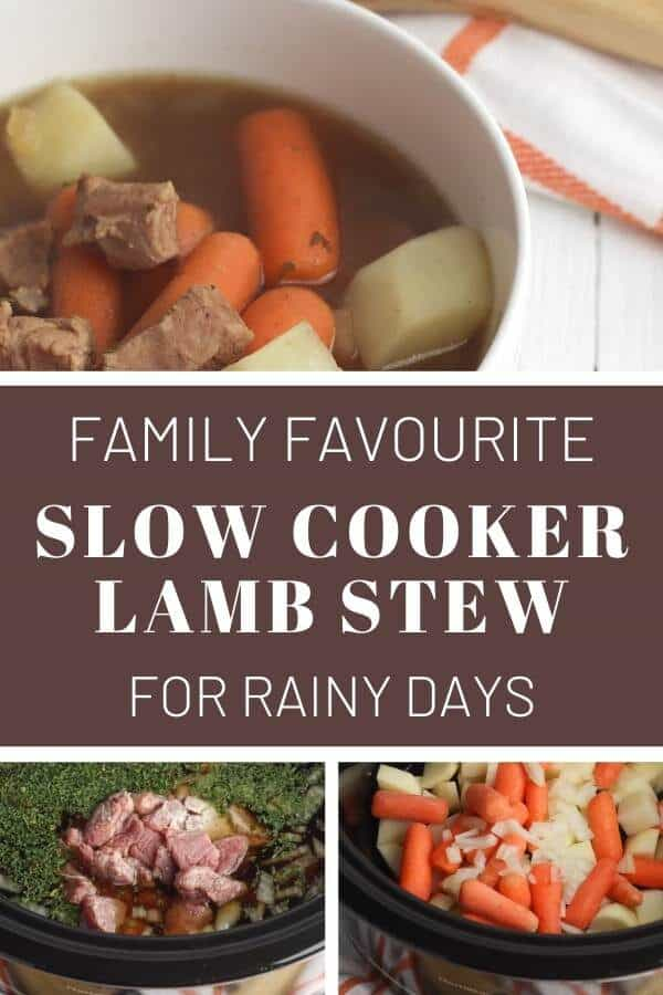 family favourite slow cooker lamb stew for rainy days