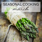 asparagus fresh and ready for cooking march