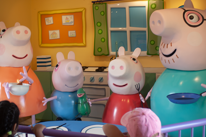 Peppa Pig World at Paultons Family Theme Park in Hampshire