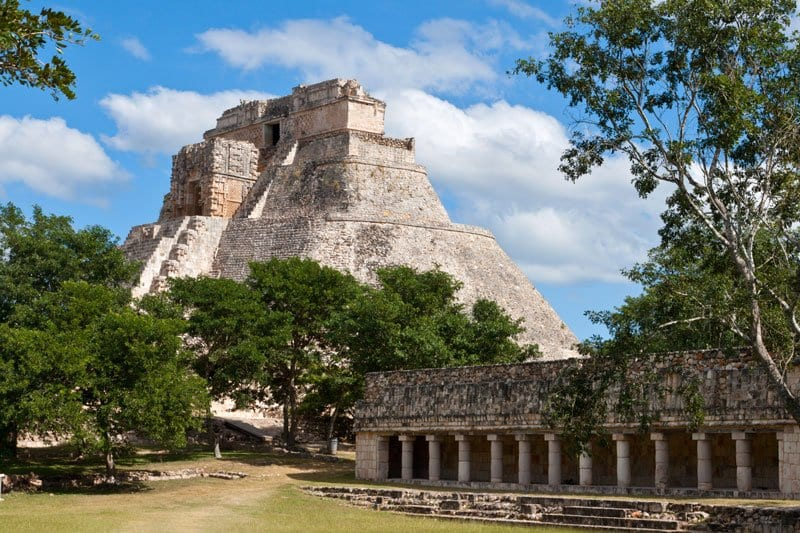 Uxmal one of the sites to visit in the Yucatan with Kids